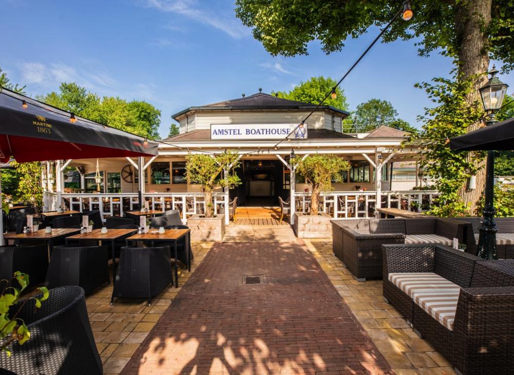 Bedrijfsuitje Amstel Boathouse Amsterdam